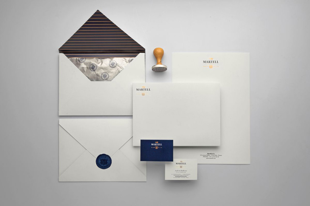New Logo, Identity, and Packaging for Martell by Yorgo & Co.