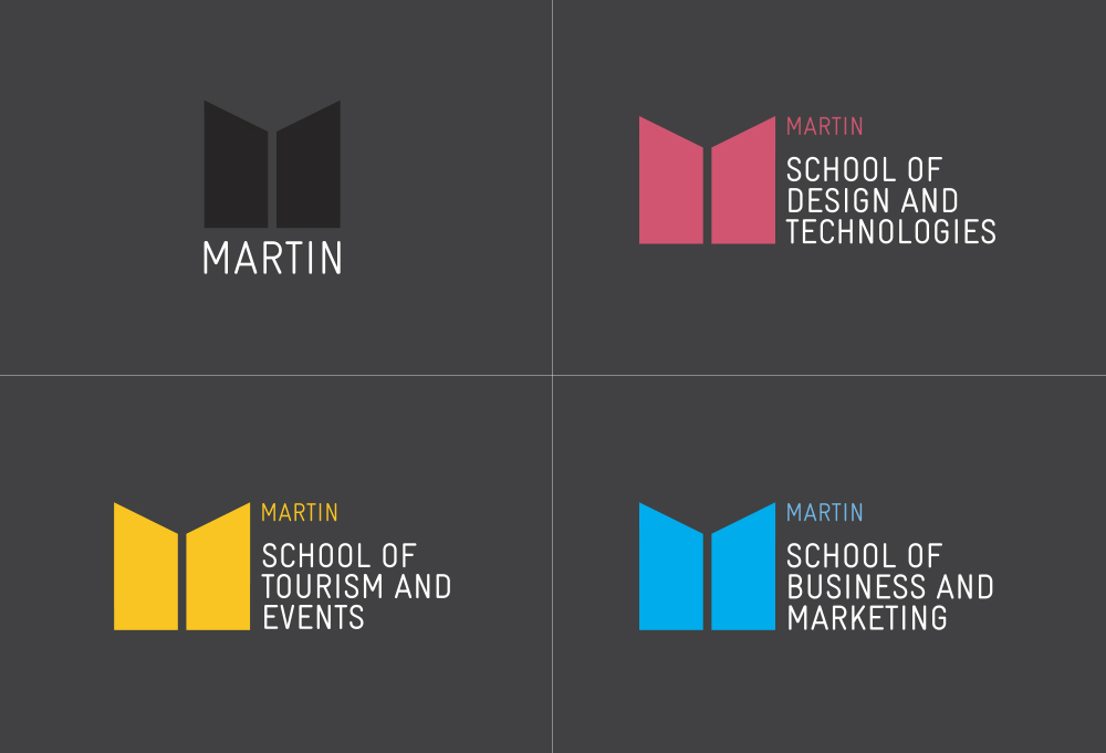 New Logo and Identity for Martin by Born & Raised
