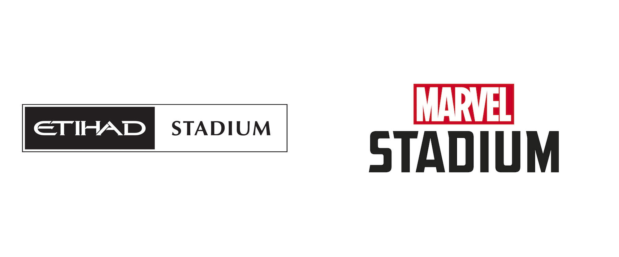 New Name and Logo for Marvel Stadium