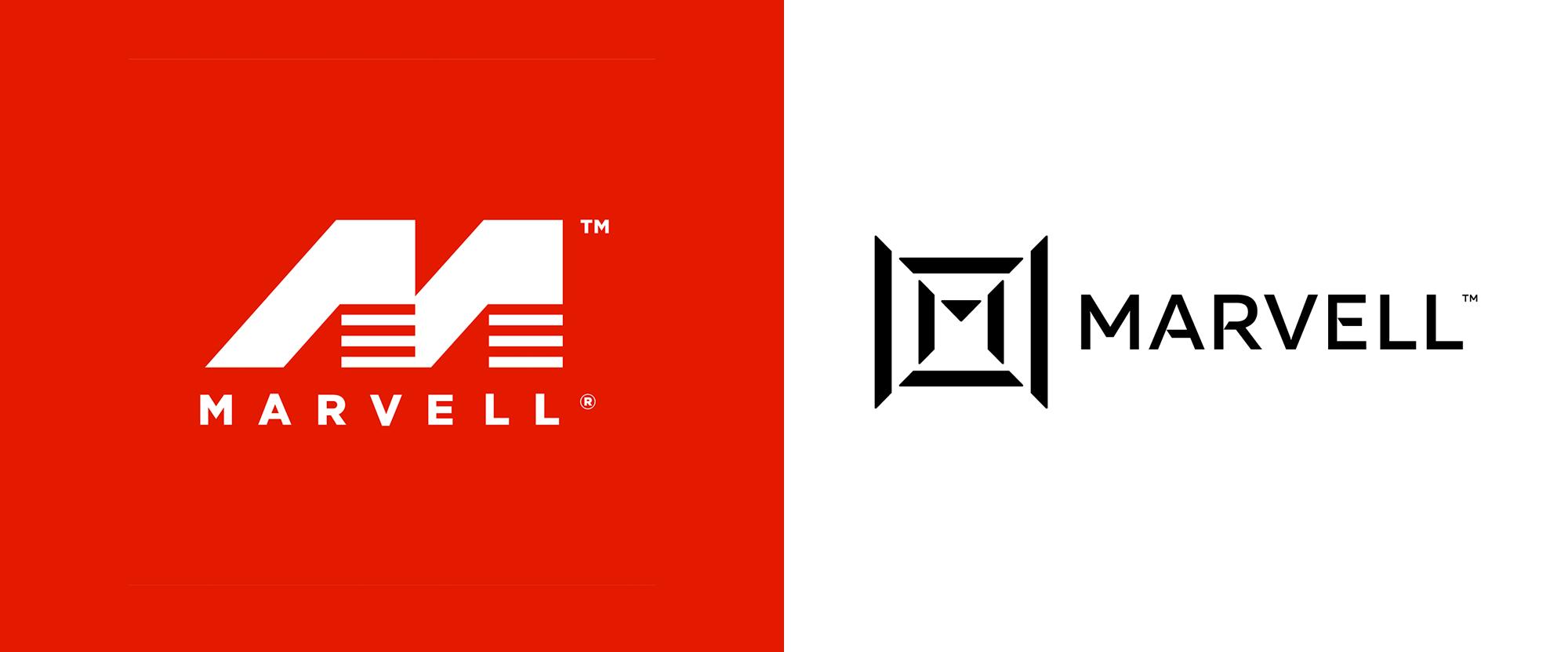 New Logo for Marvell