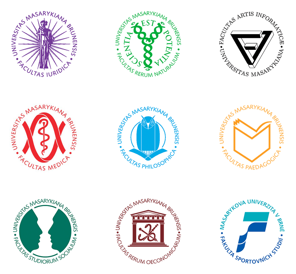 New Logo and Identity for Masarykova Univerzita by Studio Najbrt