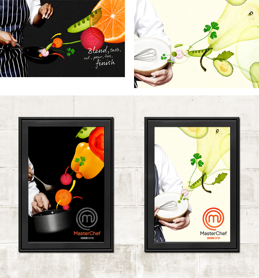 New Logo, Identity, and Packaging for MasterChef by The Plant
