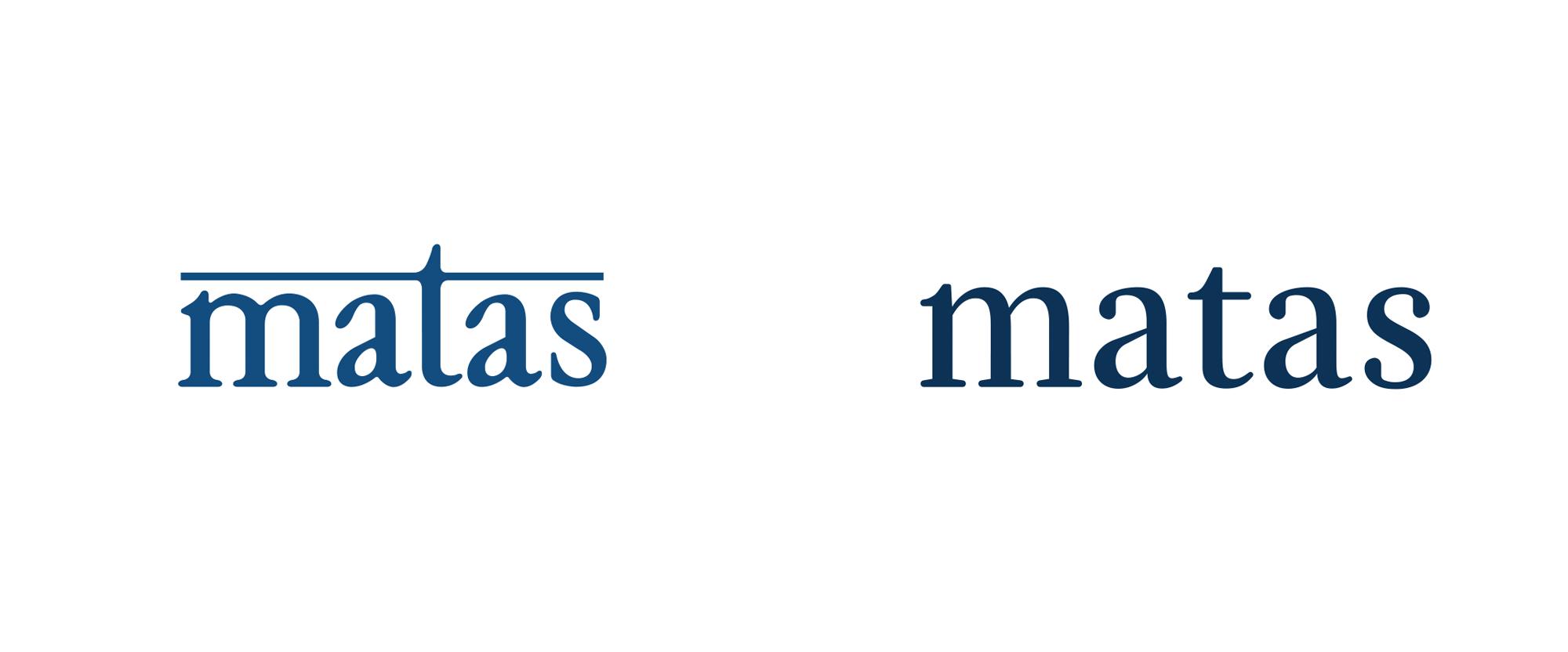 New Logo for Matas by LOOP Associates