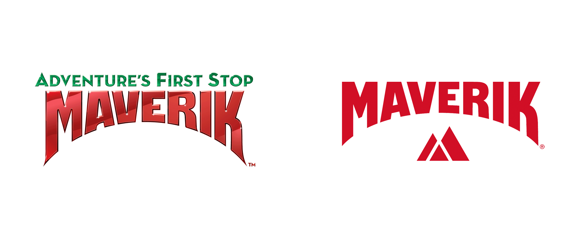 New Logo for Maverik