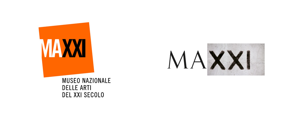 New Logo for MAXXI by Inarea