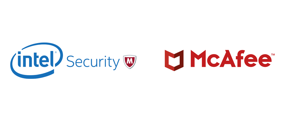 New Logo for McAfee