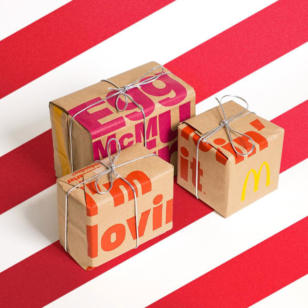 Different Is Awesome Holiday Package: Brand New: New Packaging For McDonald's By Boxer