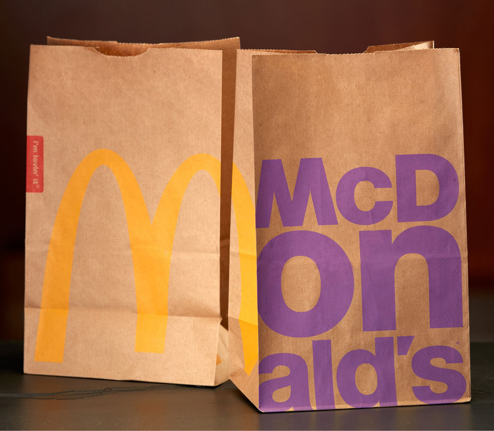 New Packaging for McDonald's by Boxer