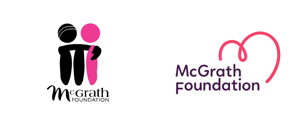 New Logo for McGrath Foundation by Hulsbosch