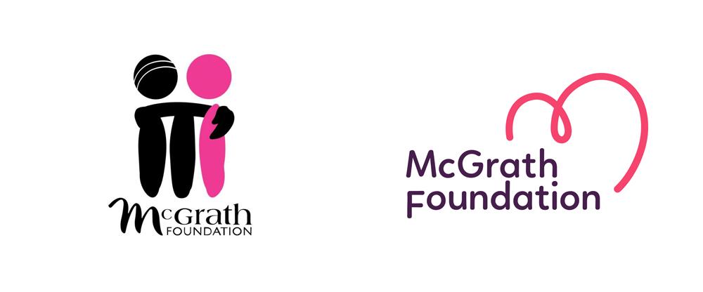 New Logo for McGrath Foundation by Hulsbosch