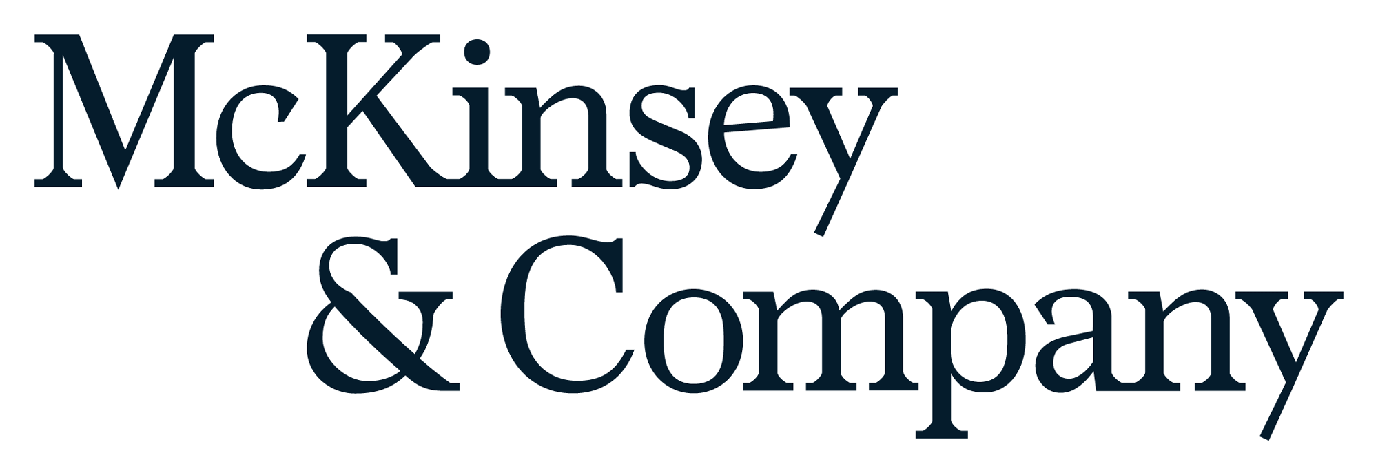 New Logo and Identity for McKinsey by Wolff Olins