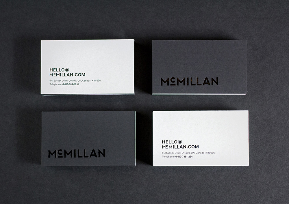 New Logo and Identity by and for McMillan