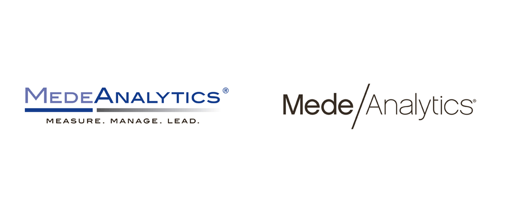 New Logo and Identity for MedeAnalytics by Emu Design