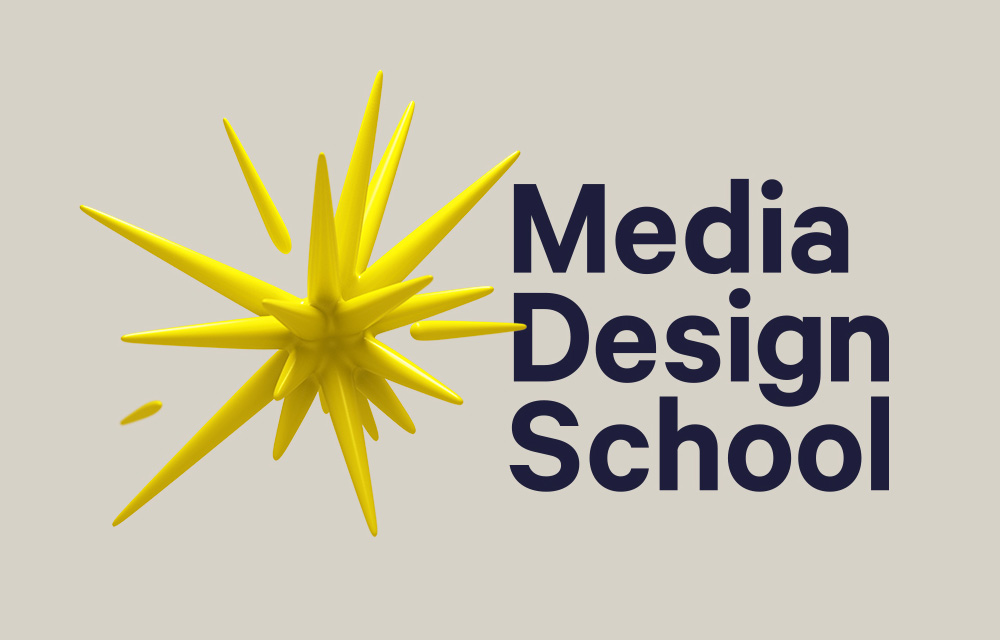 New Logo and Identity for Media Design School by SomeOne