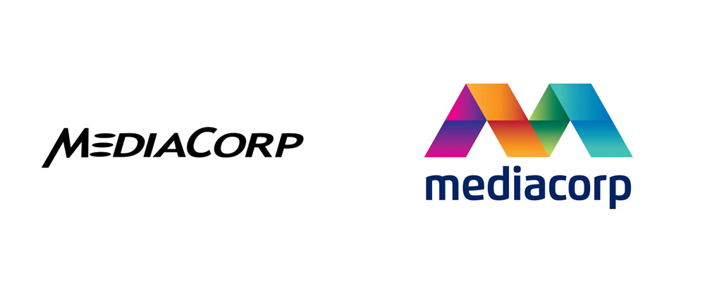 New Logo and Identity for Mediacorp by Bonsey Design