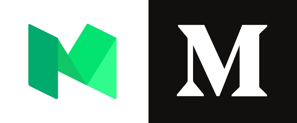 New Logo for Medium by Manual in Collaboration with In-house