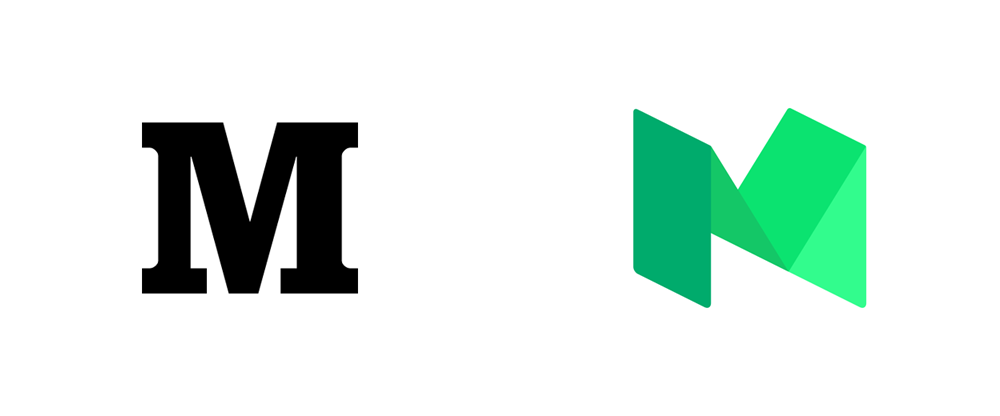 New Logo for Medium done In-house with PSY/OPS