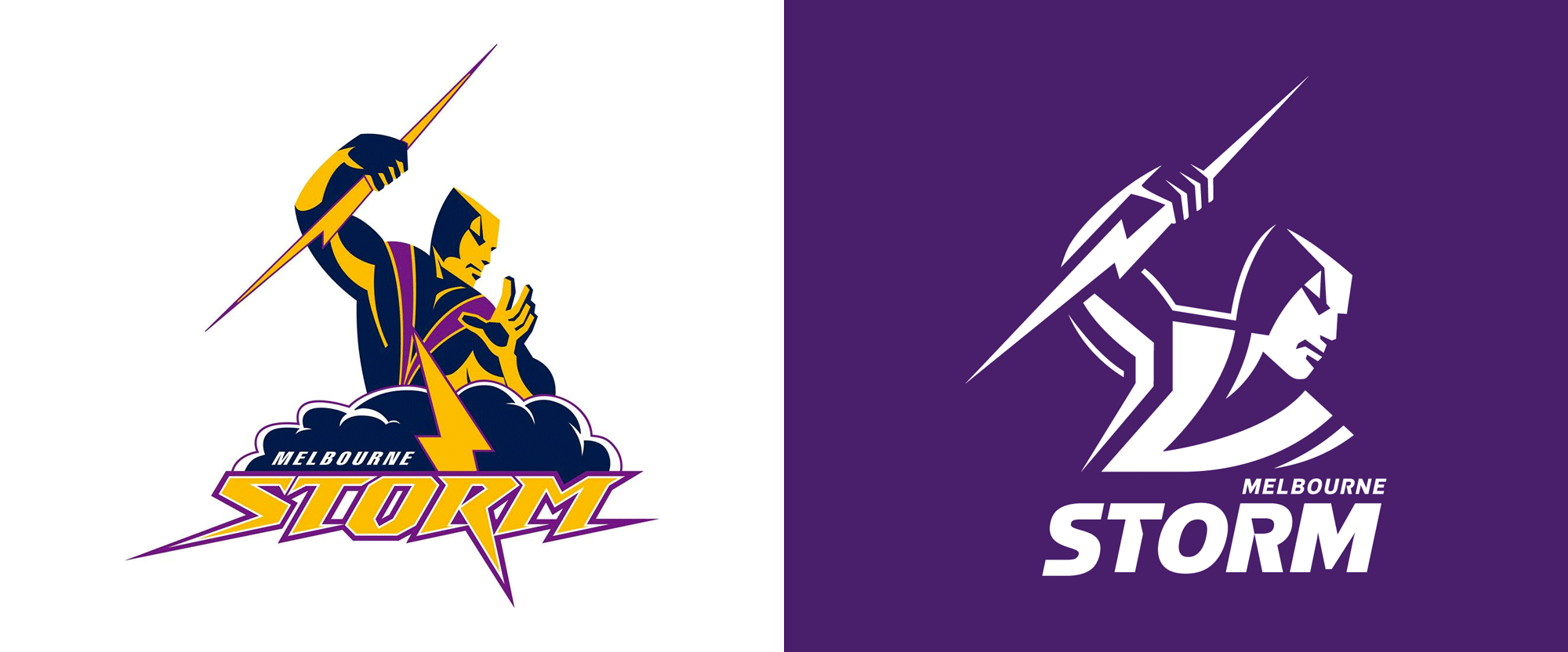 New Logo for Melbourne Storm by WiteKite