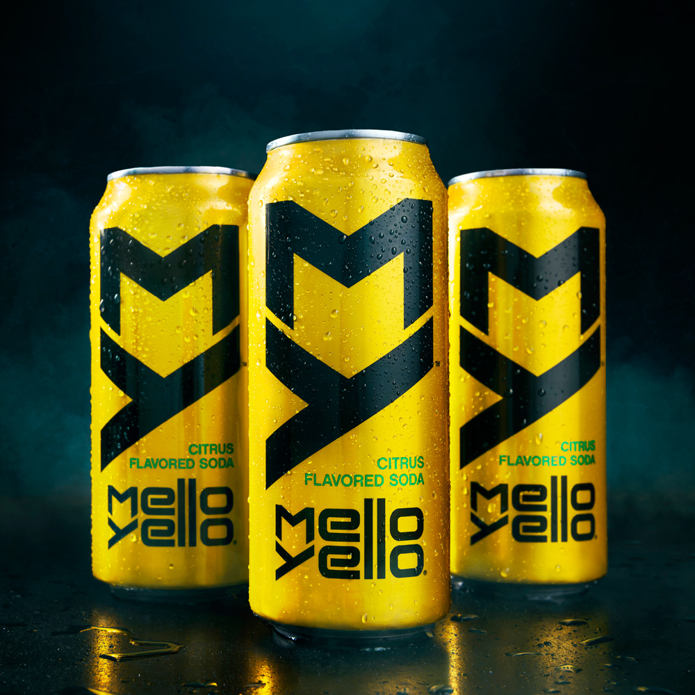 Brand New New Logo and Packaging for Mello Yello by  : melloyellocans from www.underconsideration.com size 1000 x 1000 jpeg 338kB