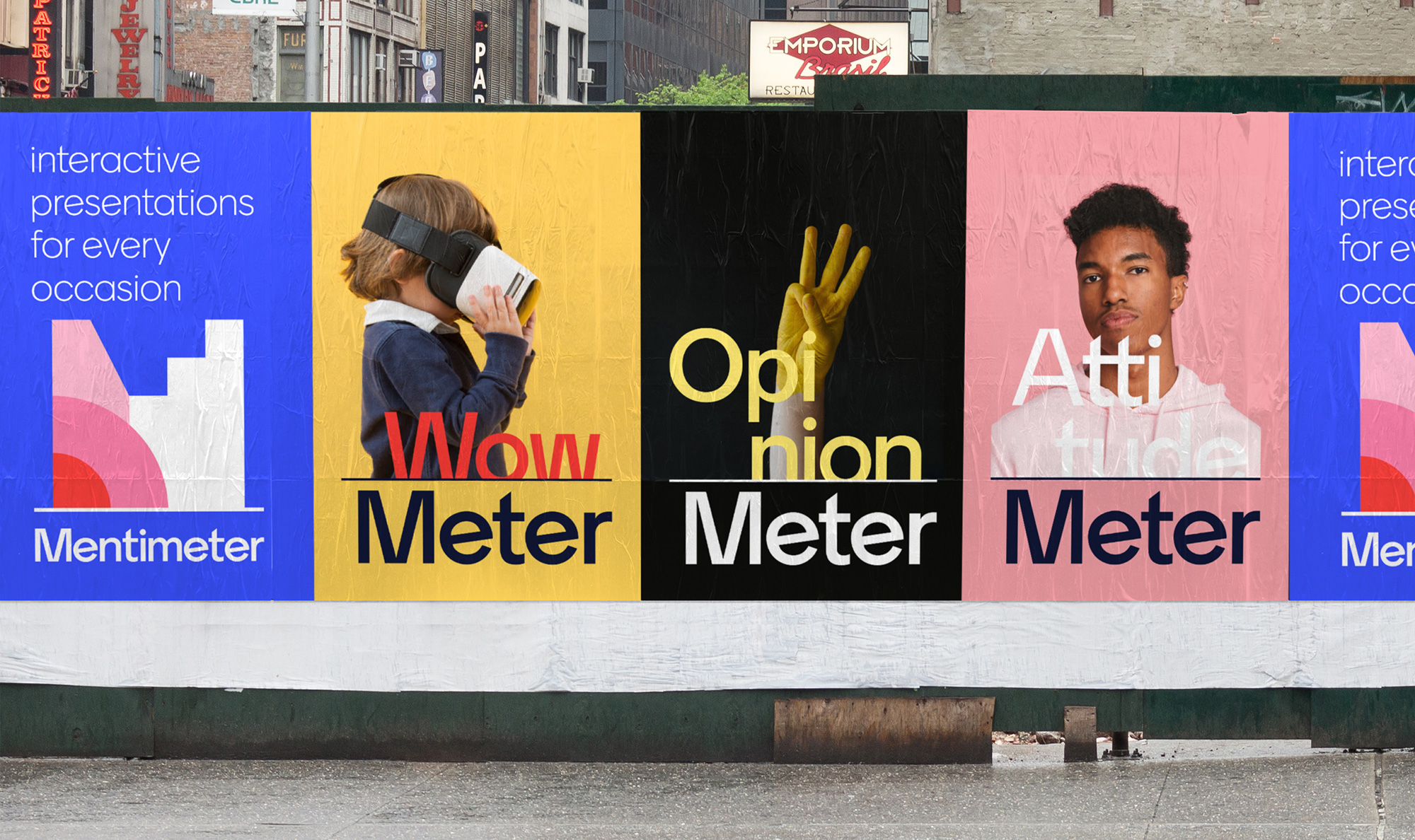 New Logo and Identity for Mentimeter by Bold