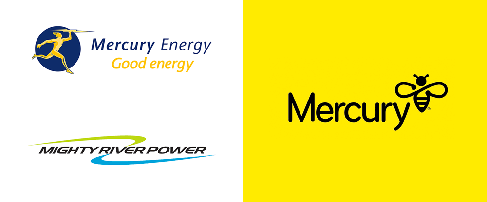 New Logo for Mercury by Dick & Jane