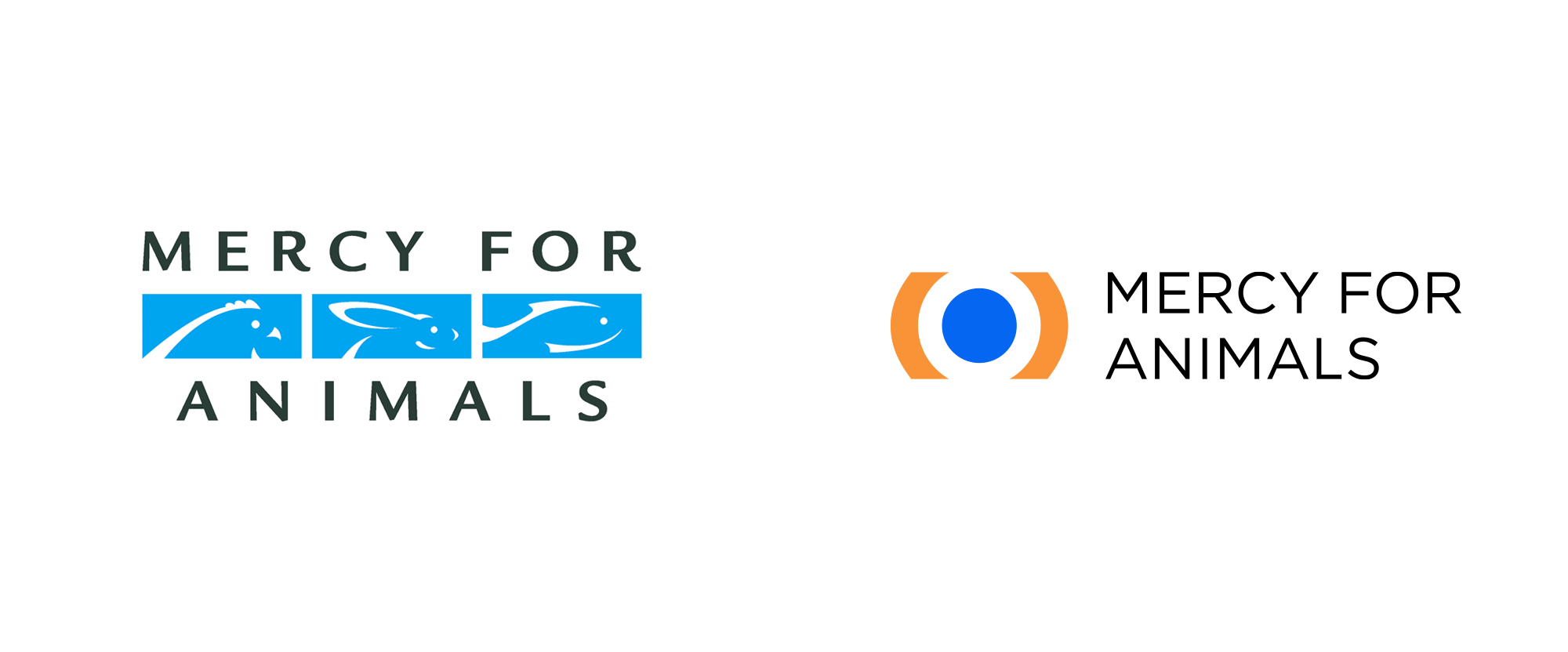 New Logo for Mercy for Animals by Chermayeff & Geismar & Haviv