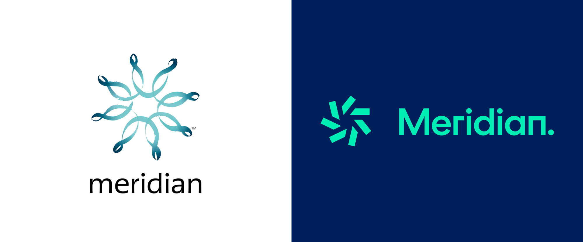 New Logo for Meridian by Inhouse
