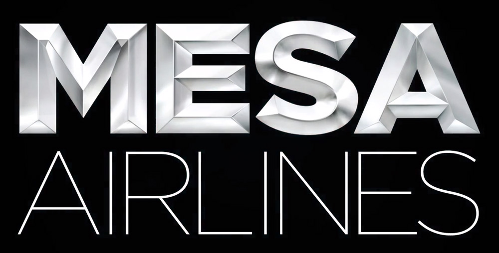 Brand New New Logo For Mesa Airlines