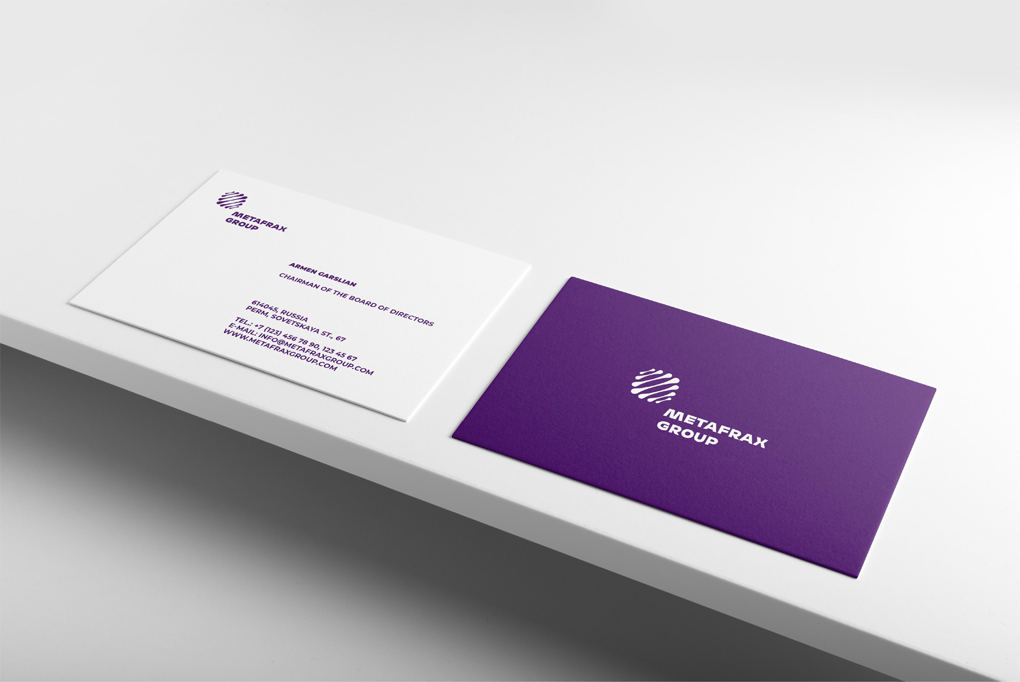 New Logo and Identity for Metafrax by Electric Brand Consultants