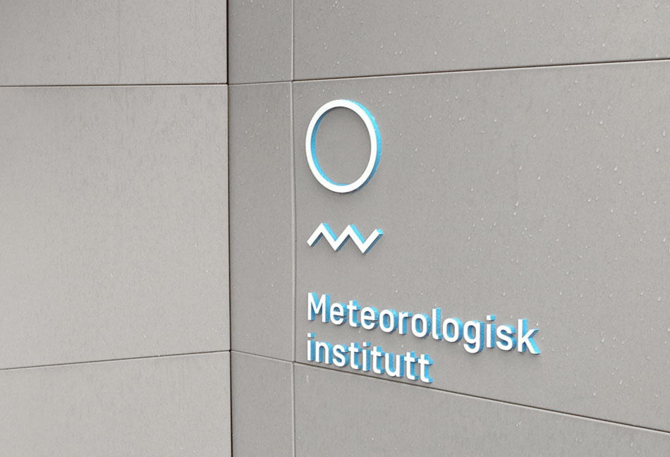 New Logo and Identity for Meteorologisk Institutt by Neue
