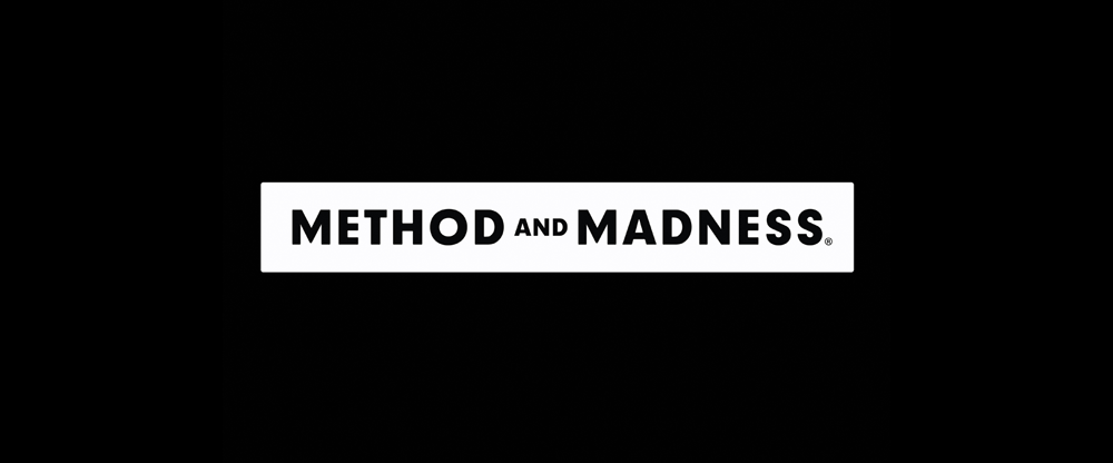 New Logo and Packaging for Method and Madness by M&E
