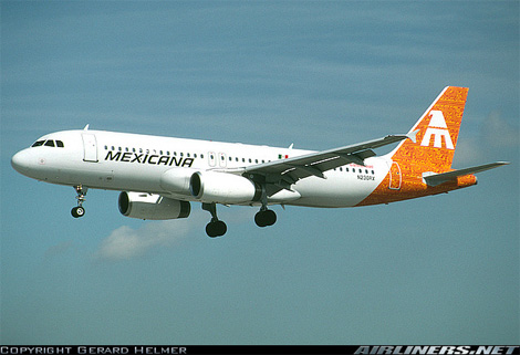 Mexicana Livery, Old