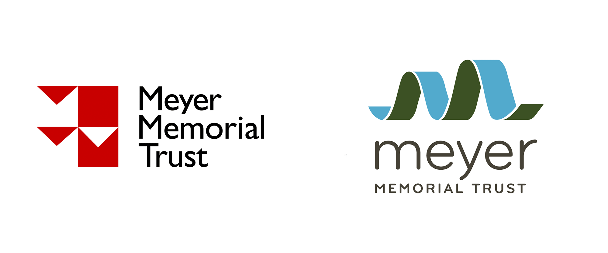 New Logo and Identity for Meyer Memorial Trust by Smith & Connors