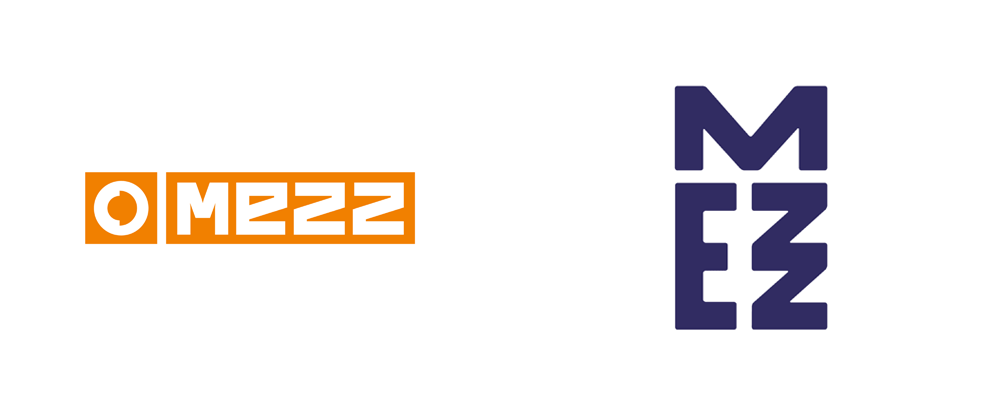 New Logo and Identity for Mezz by Das Buro