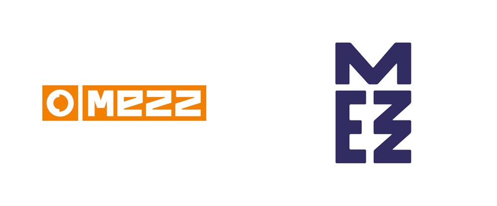 New Logo and Identity for Mezz by Das Buro