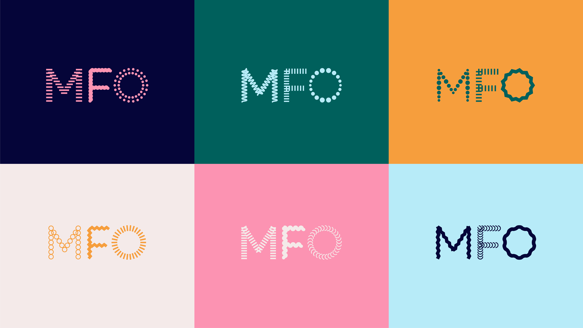 New Logo and Identity for MFO by Dinamo