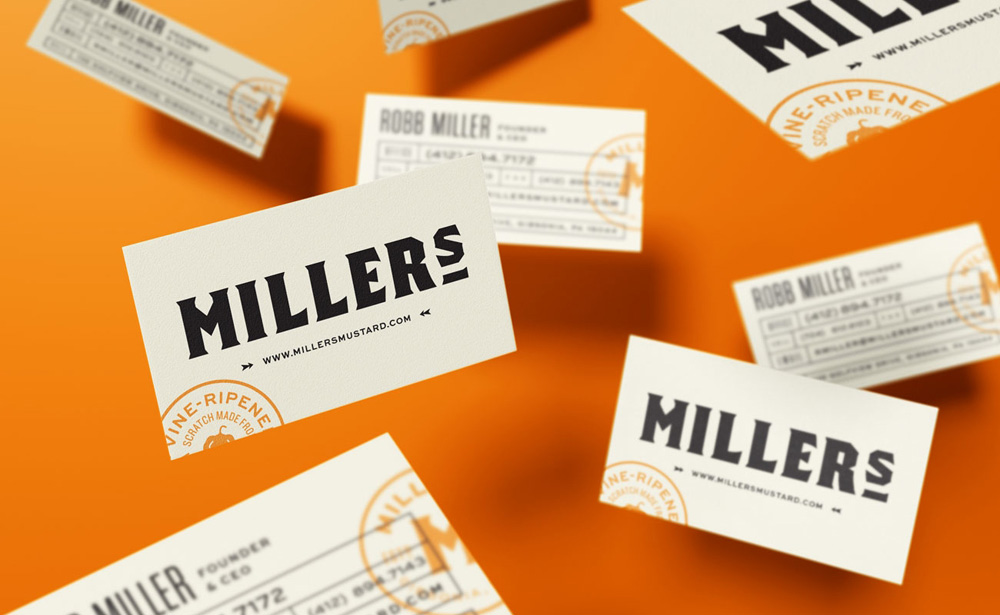 New Logo, Identity, and Packaging for Miller's by Hampton Hargreaves