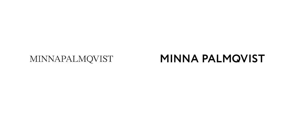 New Logo and Identity for Minna Palmqvist by Bedow