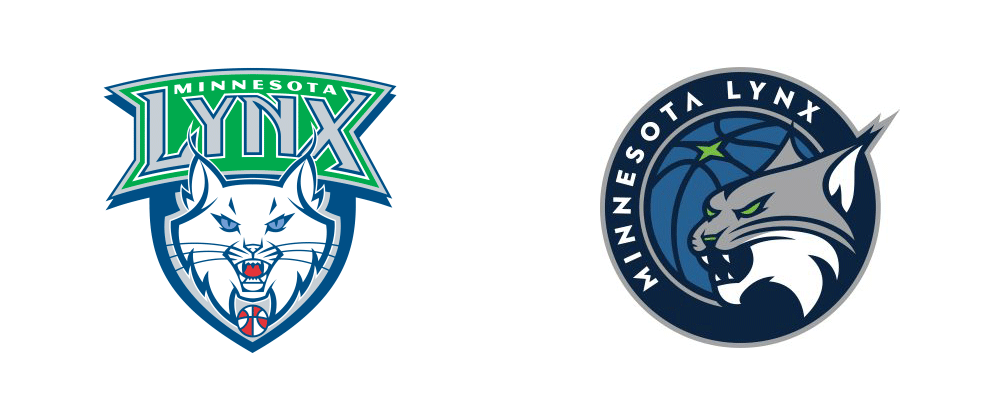 New Logo for Minnesota Lynx