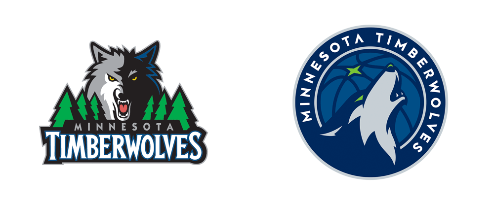 New Logo for Minnesota Timberwolves by Rare Design
