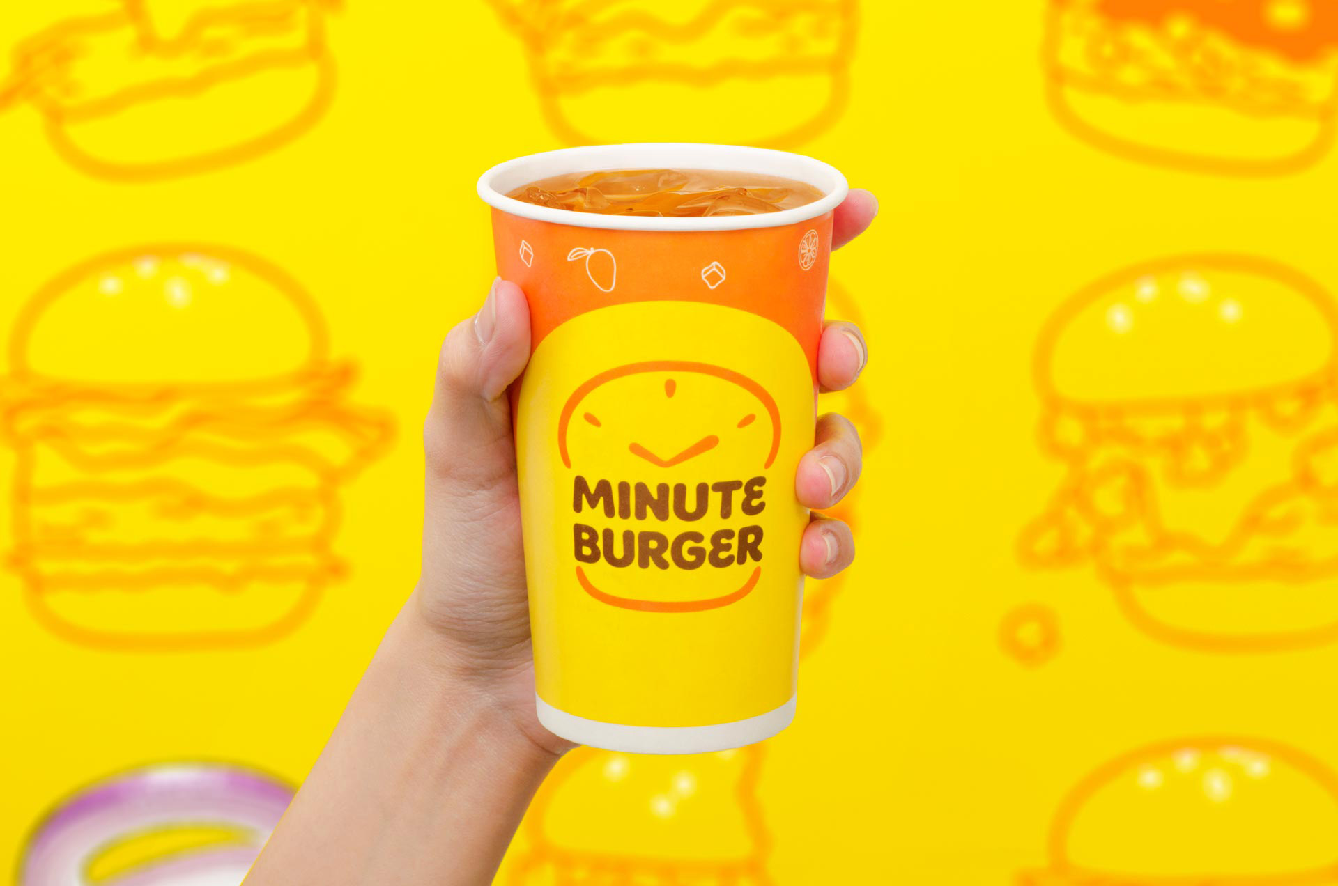 New Logo and Identity for Minute Burger by Bluethumb