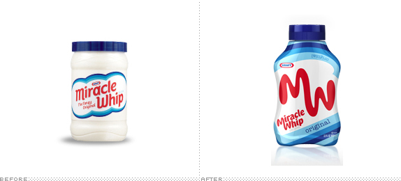 Miracle Whip, Before and After