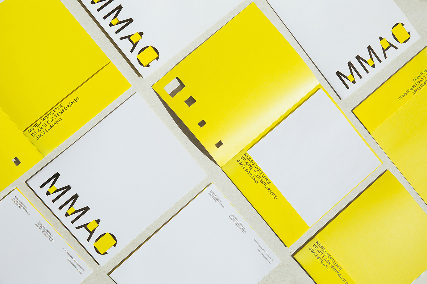 New Logo and Identity for MMAC by Sociedad Anónima