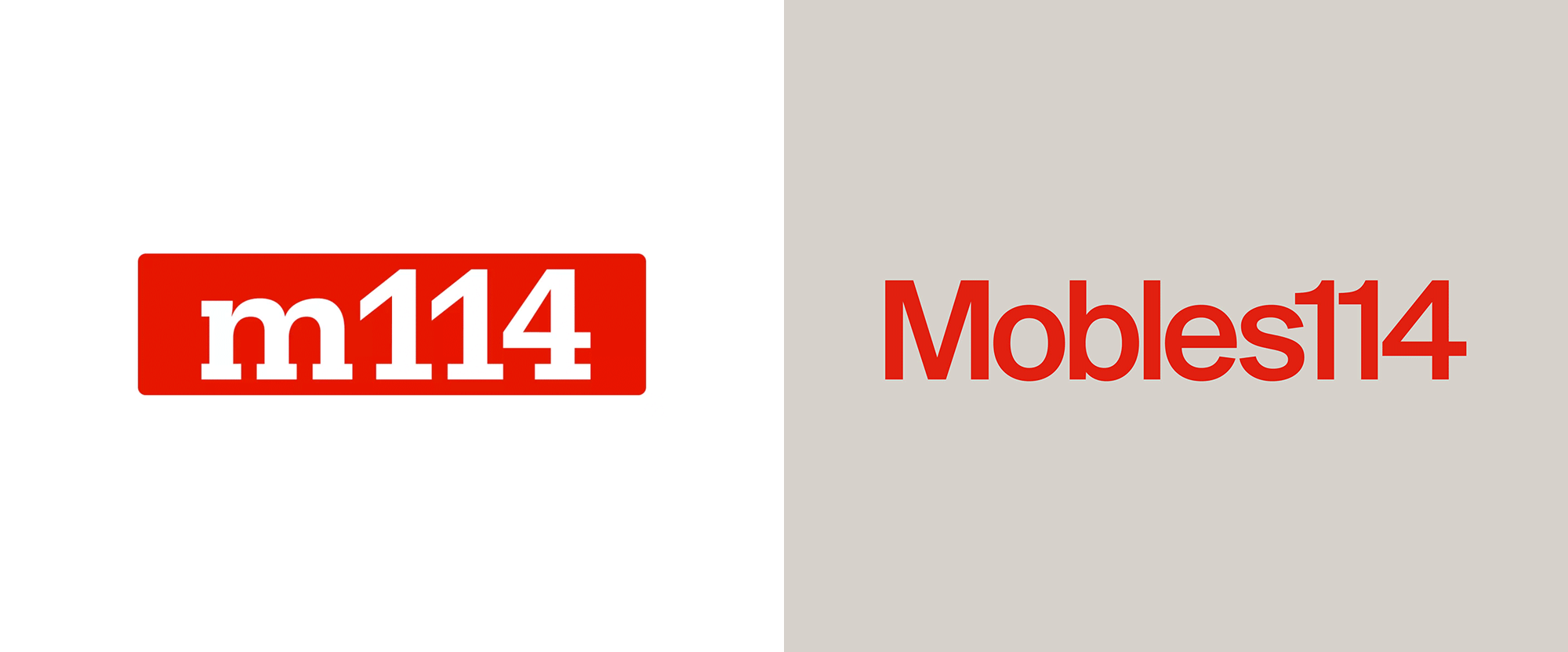 New Logo and Identity for Mobles114 by Folch