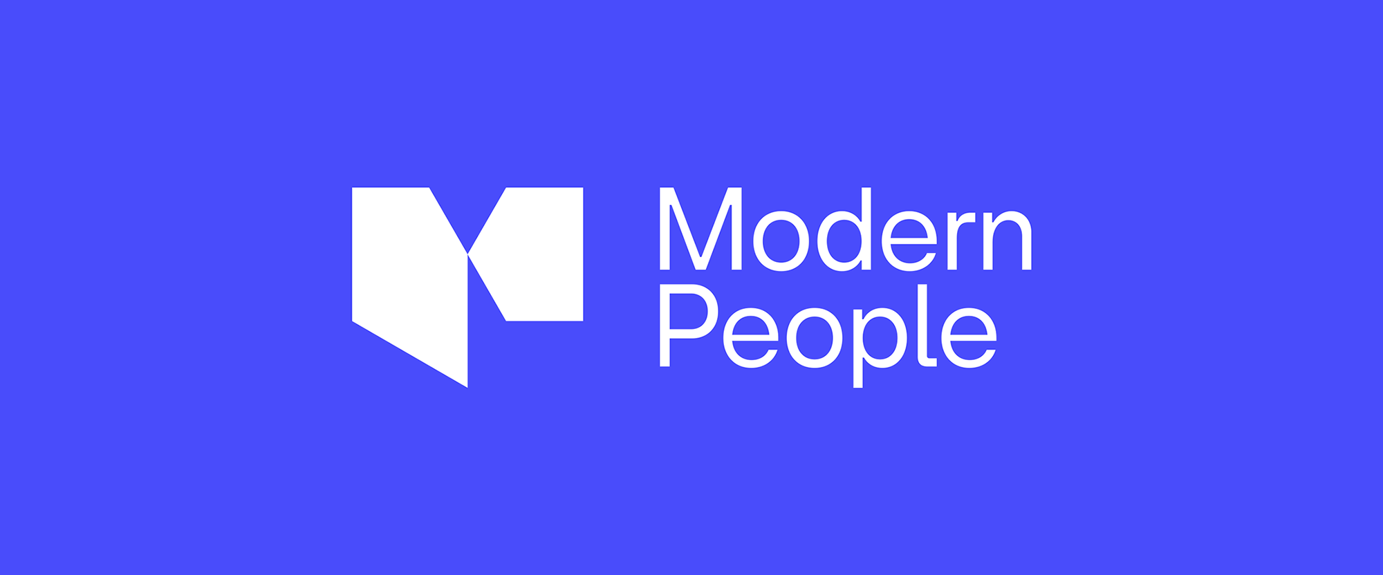 New Logo and Identity for Modern People by Merkitys