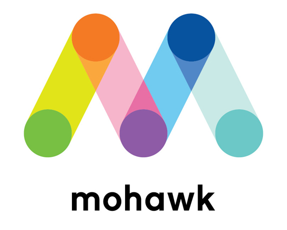 Brand new mohawk connects the dots for Mohawk carpet logo