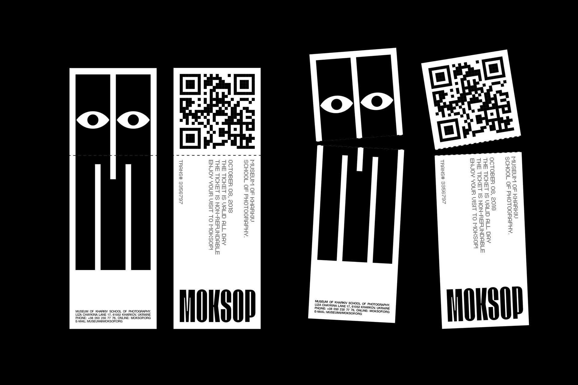 New Logo and Identity for MOKSOP by Molto Bureau