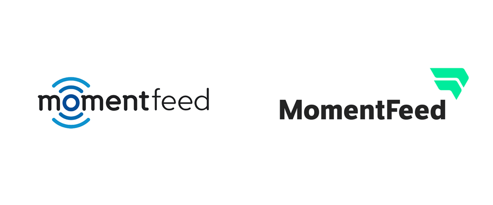 New Logo for MomentFeed by La Visual
