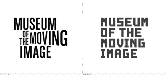 MoMI Logo, Before and After