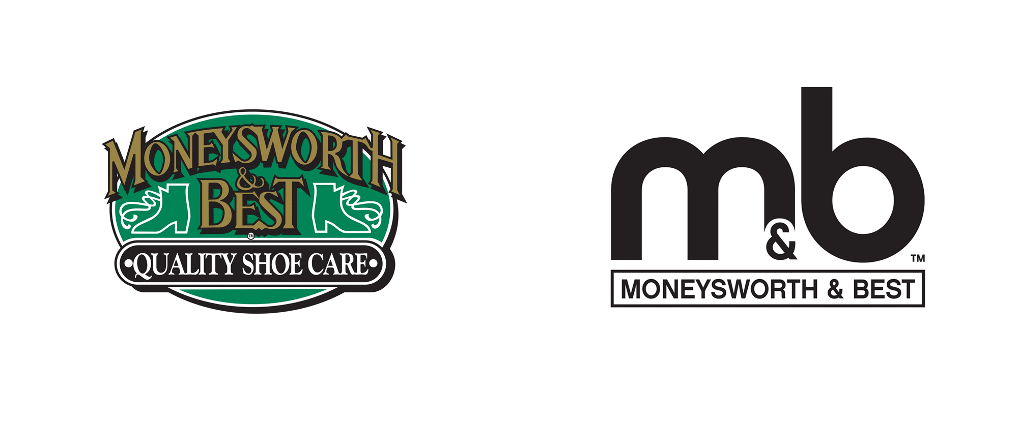 New Logo and Packaging for Moneysworth & Best